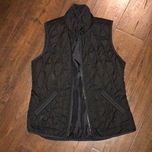 EUC black old navy vest